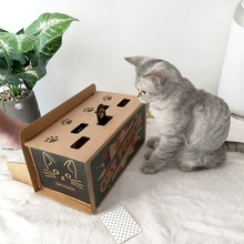 Cat Punch Scratch Toy Supplies Interactive Mole Mice Game Toy DIY Mouse Pop Up Puzzle For Cats Treat Exercise Cat Toys-in Cat Toys from Home & Garden on Aliexpress.com   Alibaba Group