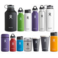 Hydro Flask 12oz/16oz/18oz/32oz/40oz64oz Vacuum Insulated Stainless Steel Water Bottle Wide Mouth