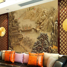 High-end landscape map wall professional production wallpaper mural custom poster photo