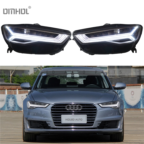 Free Shipping 1 Set Full LED Headlight Assembly Retrofit Styling