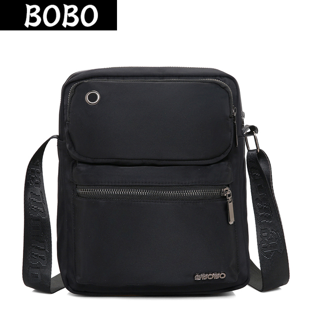 BOBO Fashion Nylon Men Shoulder Bags High Quality Casual Travel Messenger  Bags Waterproof Unisex Women Crossbody Bag Male Bolsas c1b521bbb41f1
