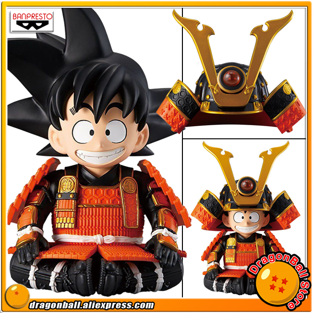 Japan Anime Dragon Ball Original Banpresto May Dolls Collection Figure - Son Goku Samura ...