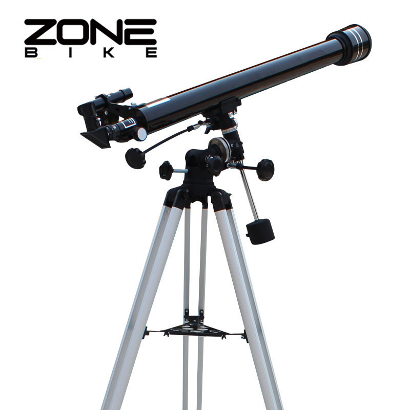 ZONEBIKE 675 Times Space Astronomical Telescope Outdoor Monocular Binoculars With Tripod Spotting Scope 900/60m Telescopio bosma 80 900 astronomical telescope monocular equatorial refractive fully coated telescope with portable tripod w2358b