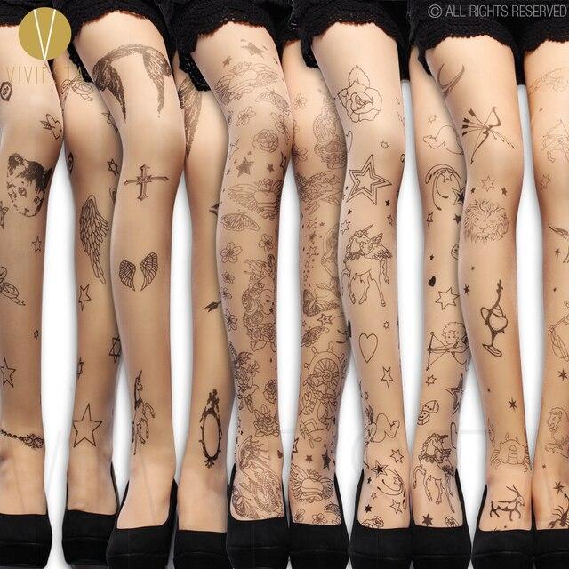 Mythe Grec A Motifs Collants De Tatouage 20d Mode Femme Licorne