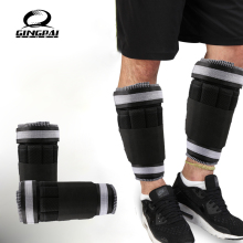 New Adjustable Ankle Weight Support Brace Strap Thickening Legs Strength Training Shock Guard Gym Fitness Gear 1 6kg Only Strap