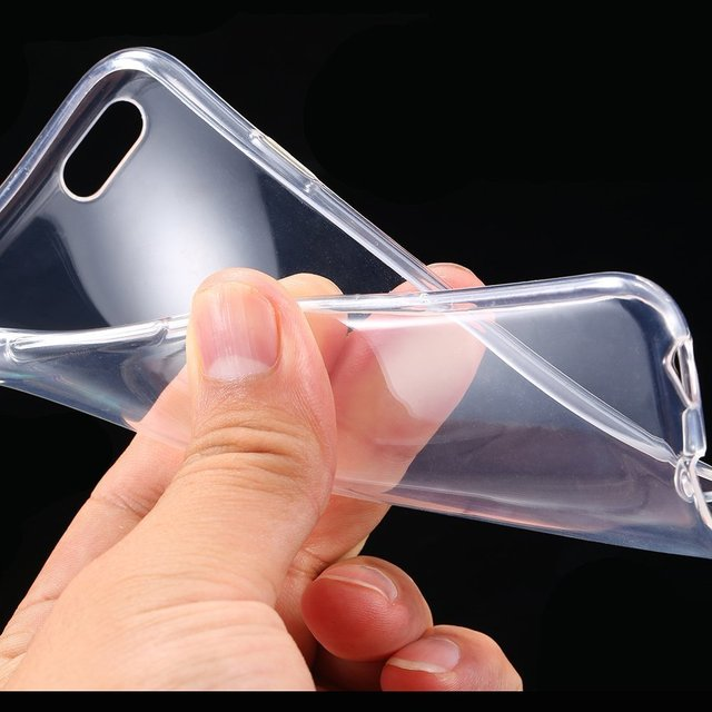 Clear Transparent cover For iphone 7 case soft TPU Back Cover for Iphone 7 8 X XS 7PLUS 6 6s 5 5s se case capa Phone Accessories
