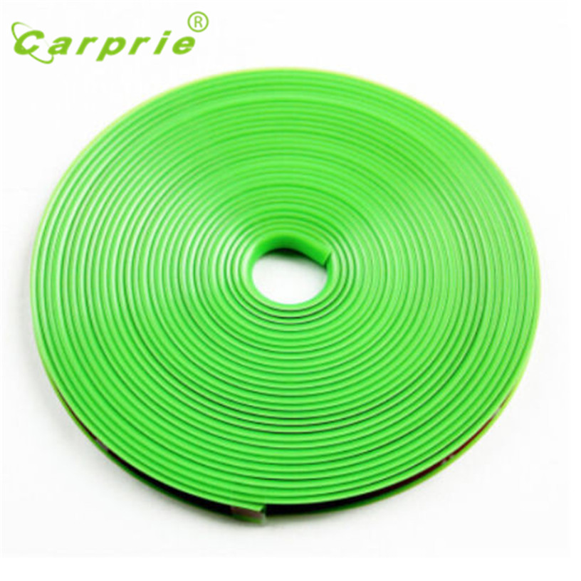 New 8 Meter Car Wheel Hub Tire Sticker Car Decorative Styling Strip Wheel/Rim/Tire Protection Covers Auto Accessories Aug 10