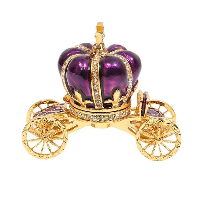 qifu Elegant Vintage home decor crown royal carriage wedding favor ...