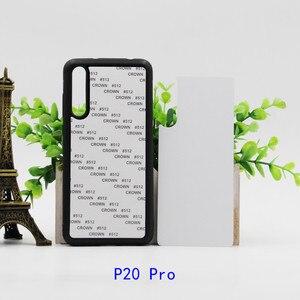 Image 4 - 2D Sublimation TPU+PC rubber Blank Case for Huawei P20 P20 Pro P20 Lite 2019 P30 PRO P30 Lite with Aluminum Inserts 10pcs/lot