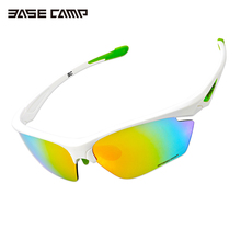 Basecamp TR90 Unisex Cycling Sunglasses Set with Five Lenses Polarized Ultralight Glasses Outdoor Sports Goggles Eyewear 106