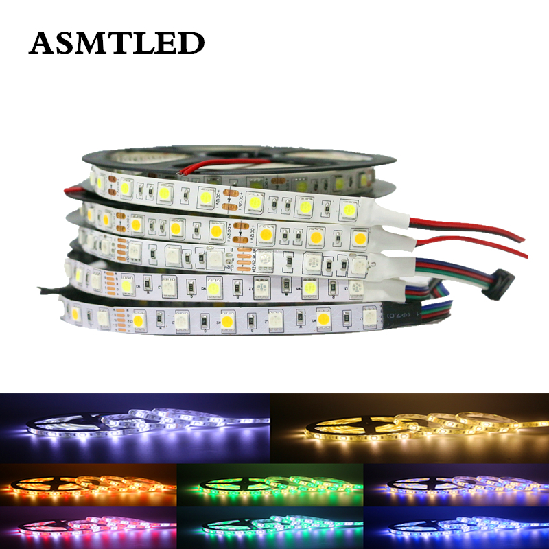 Outdoor 12 Volt 60leds Meter Led Strip Smd 5050 Rgb: SMD 5050 White Warm White RGB RGBW RGBWW LED Strip Light