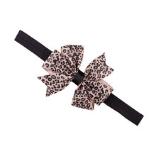 New 1PC 8 Color Kids Girls Baby Cute Bowknot Headband Hair Band Hair Accessories Tool de30de12