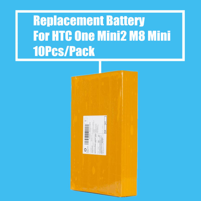 New Arrival Top Selling 10Pcs/pack 2100mah Replacement Battery for HTC ONE MINI2 M8 MINI M5 High Quality