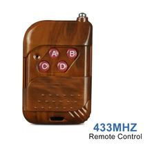 433MHz Universal DC 12V 4 CH RF Relay Wireless Remote Control Switch Receiver Module and 433Mhz Transmitter Controls