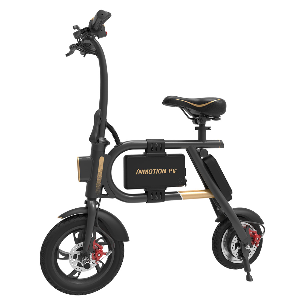 inmotion e bike p1f folding electric scooter mini style. Black Bedroom Furniture Sets. Home Design Ideas