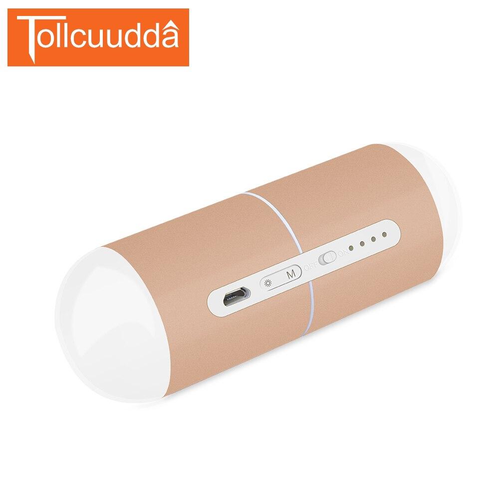 Tollcuudda руки теплые Запасные Аккумуляторы для телефонов 5000 мАч многофункциональный внешний Батарея карман нагреватель Портативный повербан…
