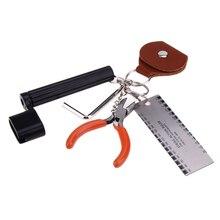 Guitar repair tool 5 in 1 Guitar Toolkit String Winder Bridge Pin Peg Puller String Cutter Guitar Parts & Accessories 2017 New