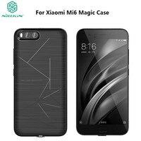 NILLKIN Original Xiaomi Mi Mi6 Magic Case QI Wireless Charging Standard Receiver Case Cover For Xiaomi