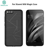 NILLKIN Original Xiaomi Mi Mi6 Magic Case QI Wireless Charging Standard Receiver Case Cover For Xiaomi