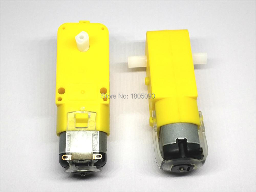 2pcs TT Motor 130motor Smart Car Robot Gear Motor For Arduino DC3V-6V DC Gear Motor Free Shipping
