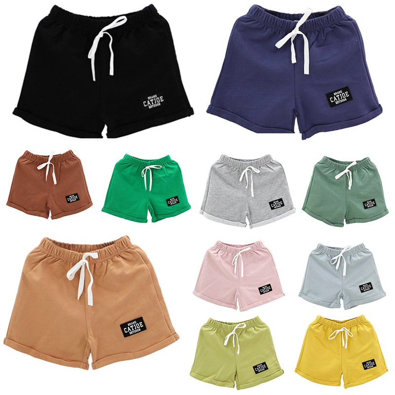High Quality 3-7T Summer Hot Selling New Fashion Boys Girls Hot Pants Children Cotton Candy   Short   Pants Kids Casual   Shorts   S1