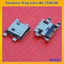 ChengHaoRan 100 шт потребительских упаковок для микро Зарядка через usb Порты и разъёмы для подключения зарядного устройства части для samsung Galaxy S3 мини i8190, MC-043