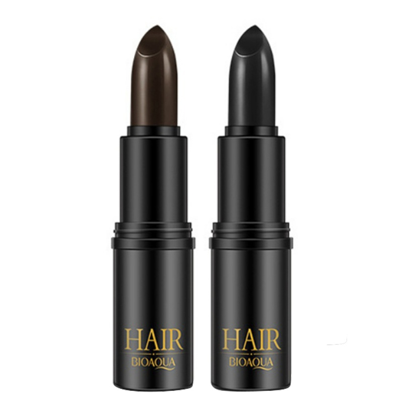 1pcs Hair DIY Styling Makeup Stick Pen Face Shadow Temporary Hair Dye Cream Black/Brown Mild Fast One-off Hair Color Pen