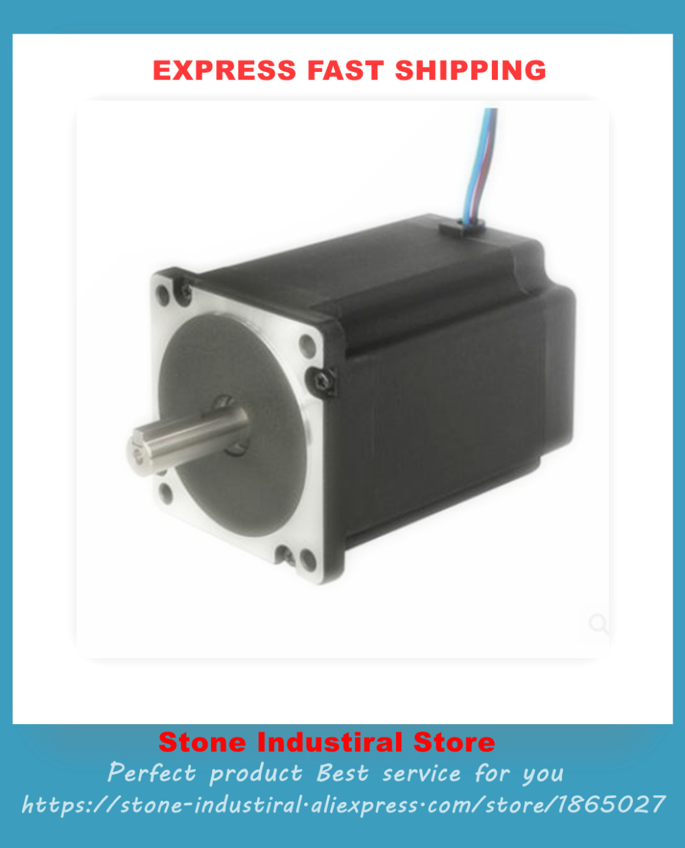 Stepper motor 2S86Q-3465 new genuine warranty for 18 months used servo motor hc kfs053d almost new warranty for three months
