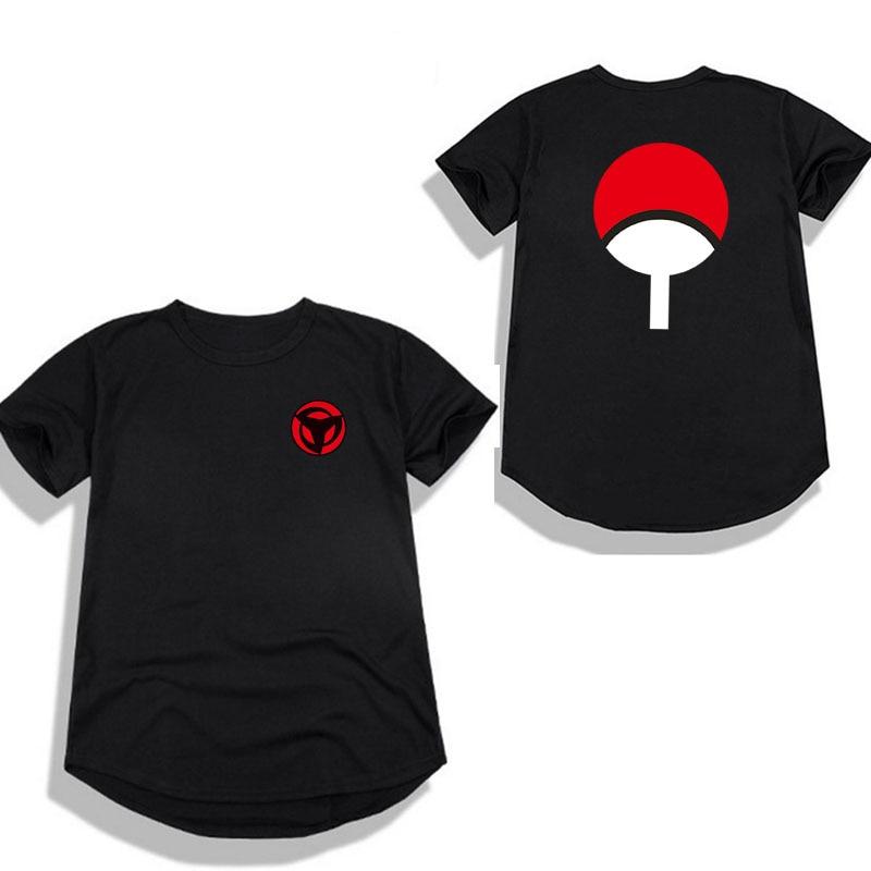 2018 New Fashion Hip hop Naruto maglietta Ragazzi Streetwear drago palla camisetas t shirt hombre Ninjia Uomini donne divertente t shirt