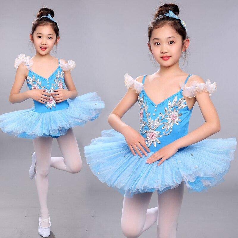Fille enfants bambin Ballet danse Tutu robe gymnastique justaucorps danse tenue danse porter
