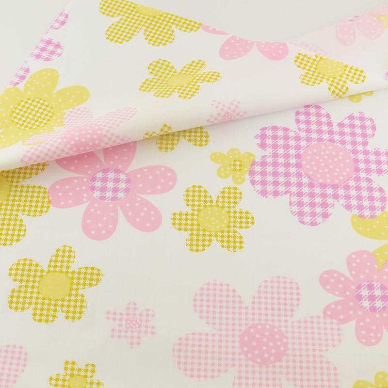 Tela de algodón que acolcha de cama de textiles para el hogar decoración tejido
