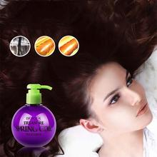 1Pc Hair Curl Styling Wax Cream Lasting Moisture Shape Roll Hair Curl Enhancer Hair Styling Products Y3