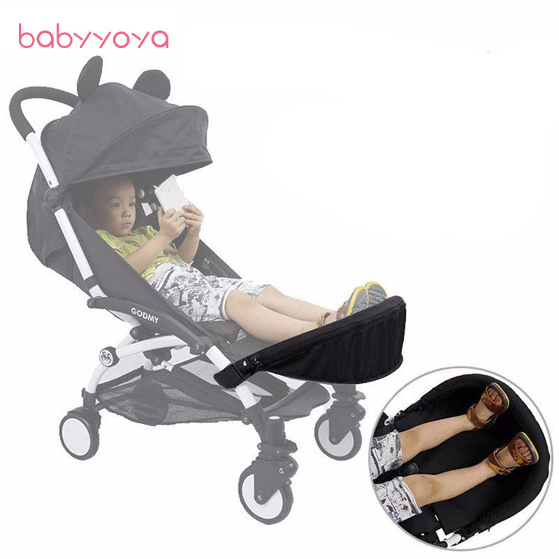 Baby Stroller Accessories for Yoya Babyzen Yoyo Vovo Babytime 32 Cm Foot Rest Feet Extension (only ship with stroller)