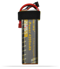 You&me 14.8V 4200MAH 35C MAX 70C AKKU LiPo RC Battery For rc  Helicopter quadcopter