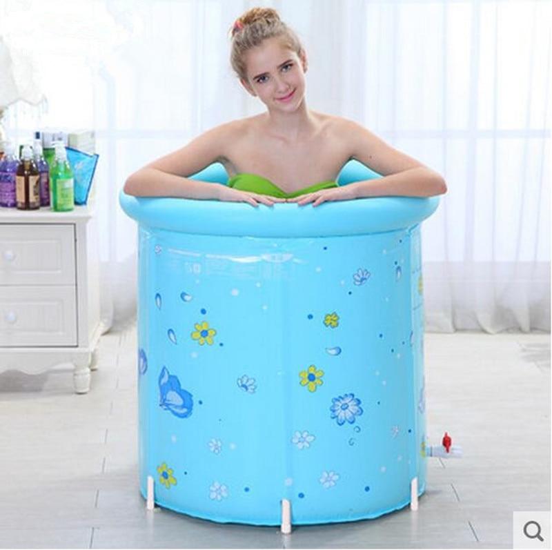 the fashion tub bath barrel support folding bath barrel-in ...
