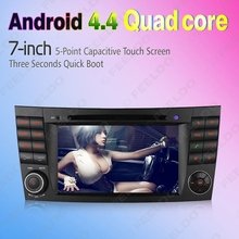 7″ inch Android 4.4.4 Quad Core Car DVD GPS Radio Head Unit For Mercedes Benz E W211(02~08) E200/E220/E240/E270/E280 #4620
