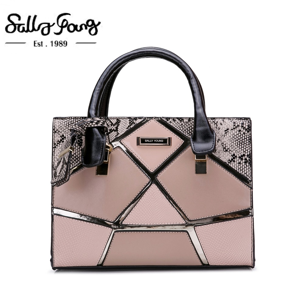 Small Luxury Women Handbags designer Female bag Hard Women Bag Ladies Shoulder Bag Delicate Patchwork design Cute Bag SY2135-in Top-Handle Bags from Luggage & Bags on AliExpress - 11.11_Double 11_Singles' Day 1