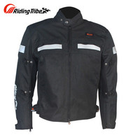 Professional Motorcycle Jacket Black Street Road Protector Motocross Body Armor JK4985 Racing Jacket Clothing Protective Gear