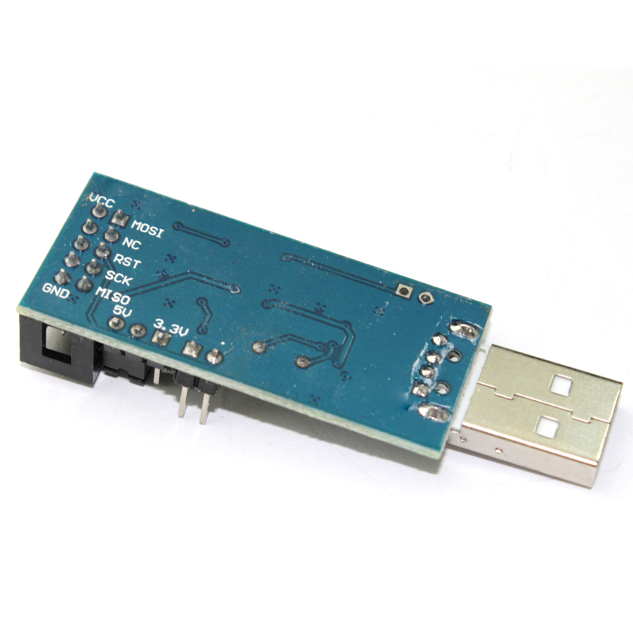 1pcs Lot Usb Isp Programmer For Atmel Avr Atmega Attiny 51 Board Microcontrollers Downloader Usbasp In Led Modules From Lights Lighting On