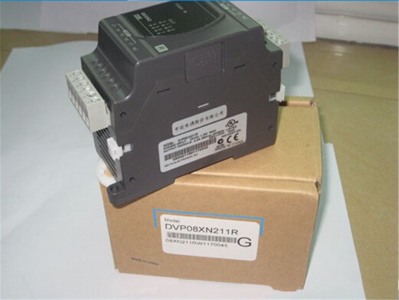 DVP08XN211R Delta ES2/EX2 Series Digital Module DO 8 Relay 24VDC new in box fbs 8yr fatek plc 24vdc 8 do relay module new in box