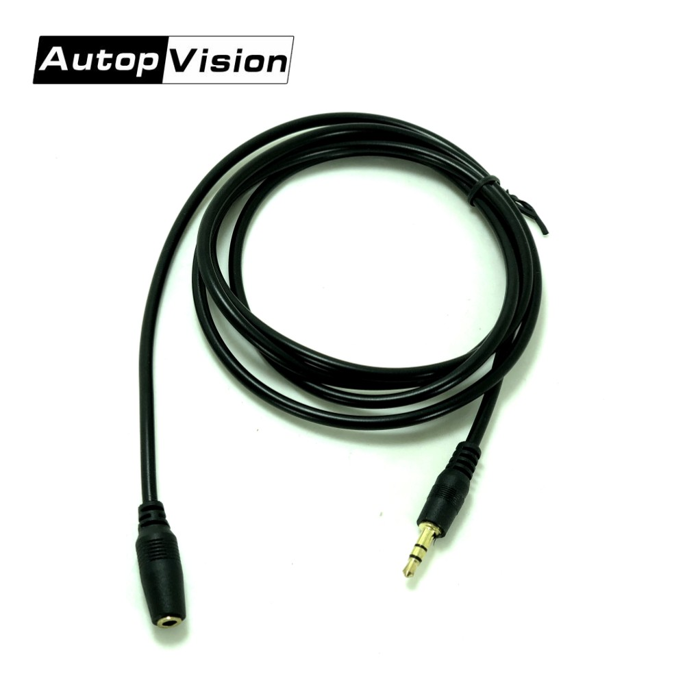10pcs/lot 3.5mm Jack Male To Female AUX Cable M/F Stereo Audio Extension Cable Cord 1.5m Earphone Headphone PC Extension Wire