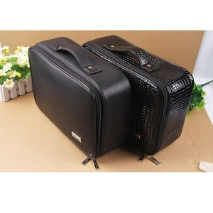 Image 5 - Professional Top Grade PU Leather Barber Hairdressing Electric Hair scissors bag Hair Clipper tool case Can Hold Hair Dryer bags