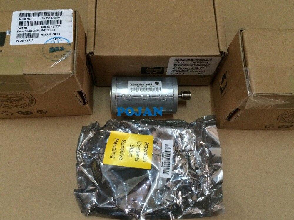 MOTEUR CH538-67076 pour DesignJet T620 T770 T790 T1200 T1300 T2300 Scan-axe moteur nouvelle encre imprimante traceur pièces POJAN