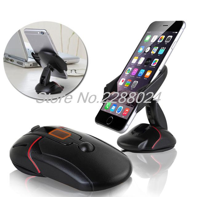Car-styling Office Desk Phone Holder Universal 360 Windshield Mount Bracket For Iphone 4 5 6 7 4s 5s 6s 7s Plus Se Less Expensive