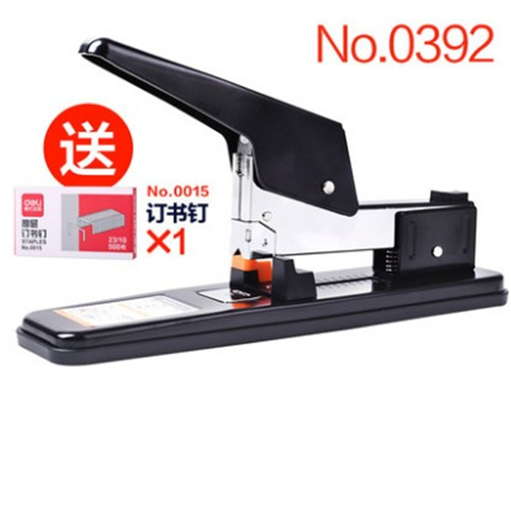 NO0392 Heavy Duty Stapler, 60 Sheet Capacity For Office Home 2017 one piece deli 0394 heavy duty stapler 80 sheets