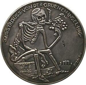 Немецкая монета 1916 копировальная