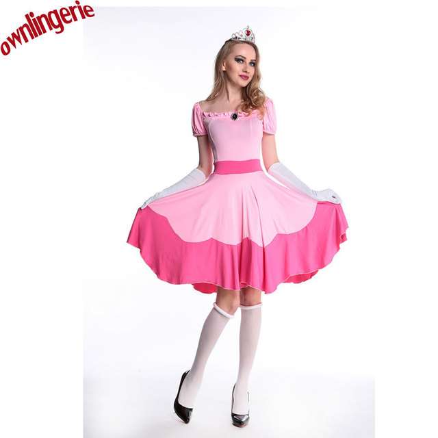 Halloween costumes fairy tale character play service nightclub cosplay Pink Princess Dress costumes w1751  sc 1 st  AliExpress.com & Halloween costumes fairy tale character play service nightclub ...