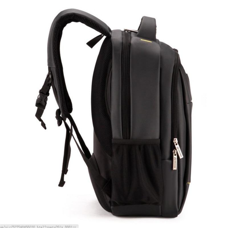 Double sac à bandoulière en nylon pour hommes sac à dos de loisirs 15.6 pouces pochette d'ordinateur étudiants livre sac collège femmes sac de voyage sac à dos - 4