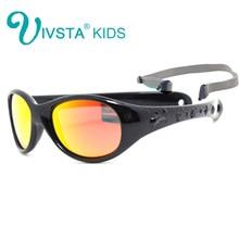 f5269e27e IVSTA Flexível TR90 pequenos óculos de Sol Do Bebê Meninas 1 2 3 anos  tamanho pequeno Espelho Polarizado óculos de Sol Das Crian.