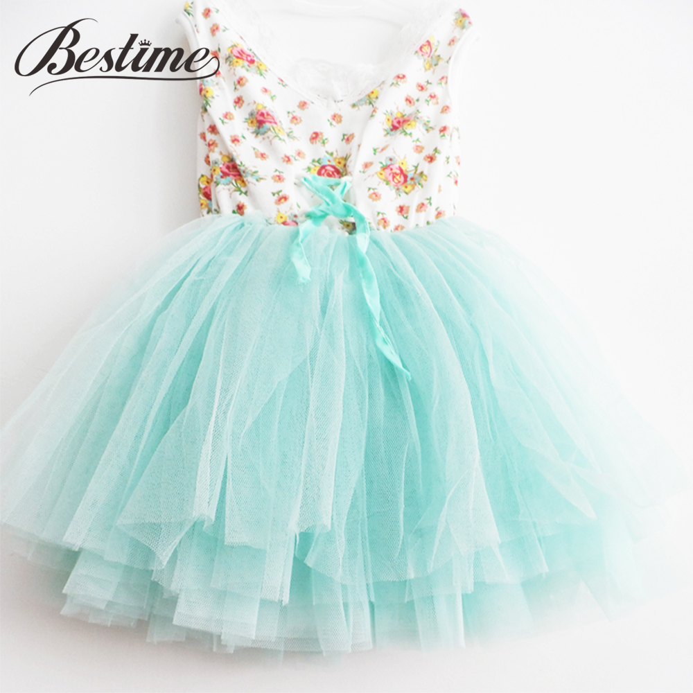 Tutu Dresses Princess-Dress Party-Costume Girls Clothing Fashion Girl Kids Floral Festival